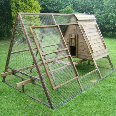 Small Chicken Coops and Runs, Chicken Arks and Houses UK