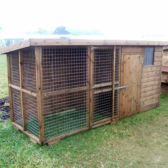 The Chilwell Dog Kennel & Run