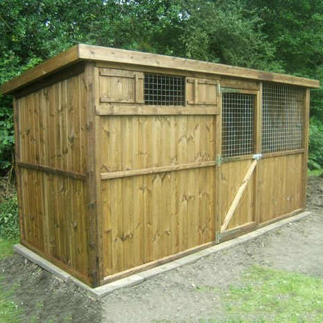 Timber Goat Houses, Sheds and Shelters UK