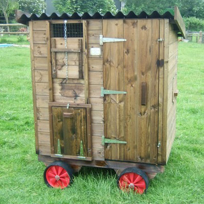 Chicken Houses On Wheels