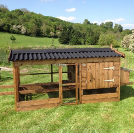 Traditional Timber Small or Large Poultry Houses for Sale UK