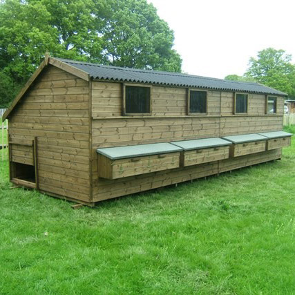 The Charnwood - Traditional Wooden Chicken House for Sale UK