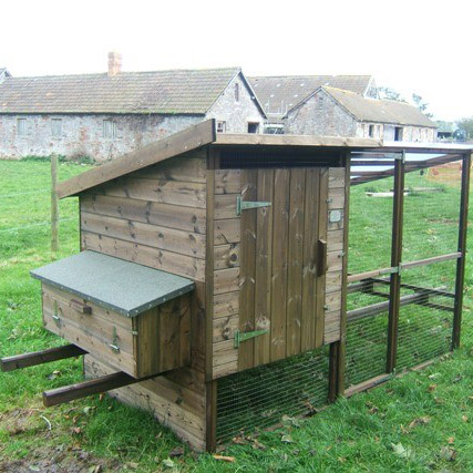 Chicken Houses With Integrated Run