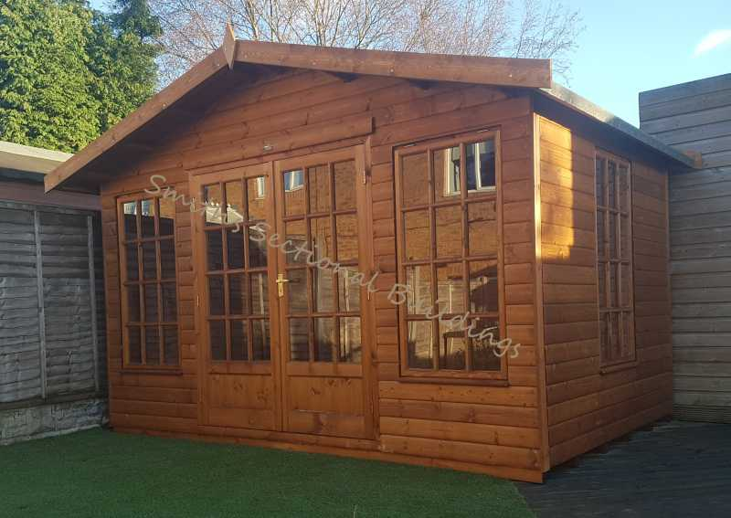 12' x 8' Loglap Summerhouse