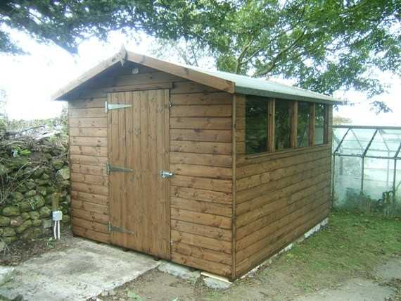 Garden Sheds 10 X 3 10' x 8' apex garden shed - smiths sectional buildings