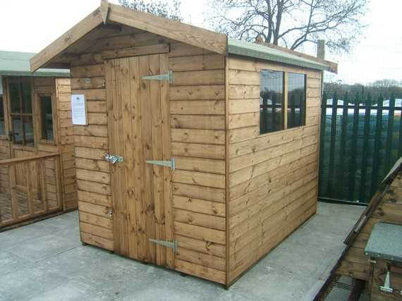8 x 6 apex garden shed - Garden Sheds 6 X 6