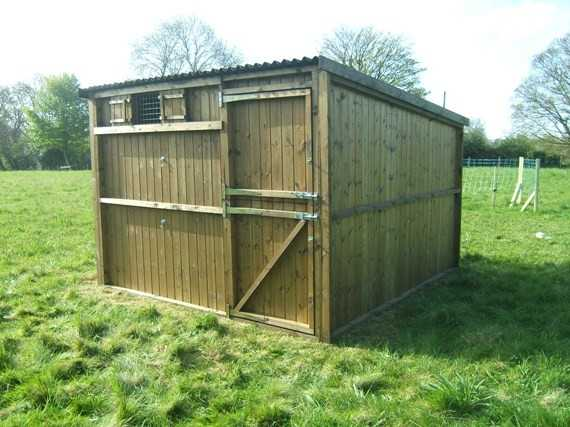 Single 10' x 10' Pony Stable