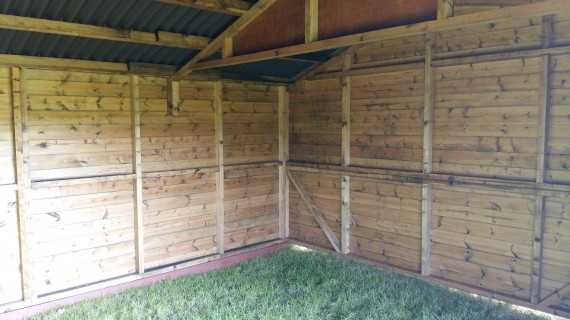 12 x 18 Haven Large Livestock Shelter