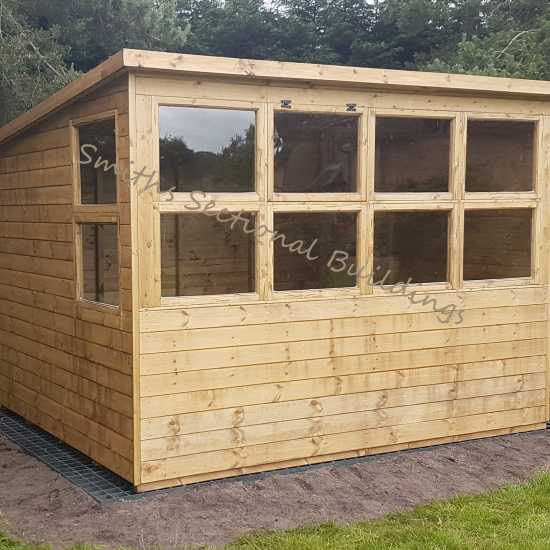 10' x 8' Potting Shed