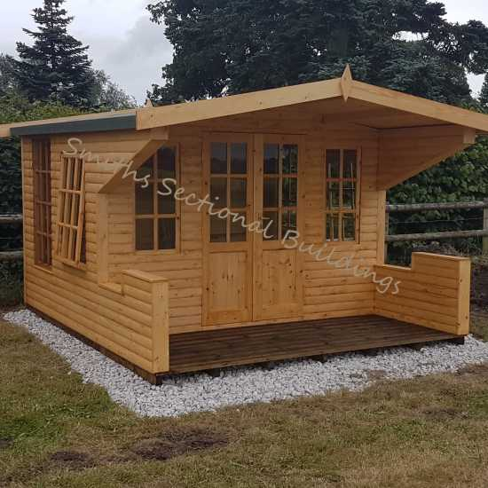 12' x 14' Buxton Summerhouse