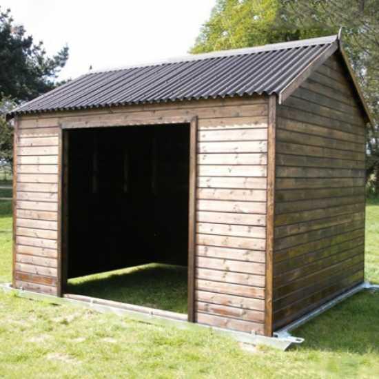 10 x 12 Horse Shelter