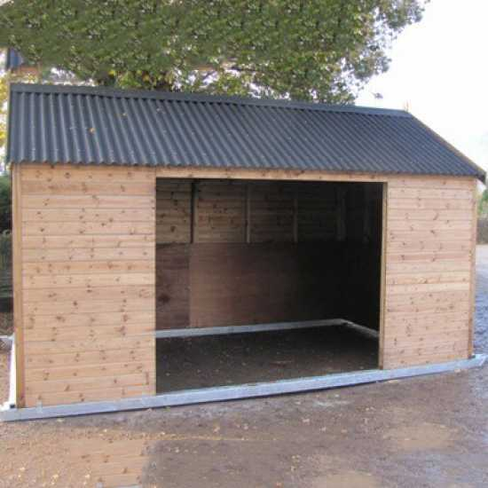 10 x 16 Horse Shelter