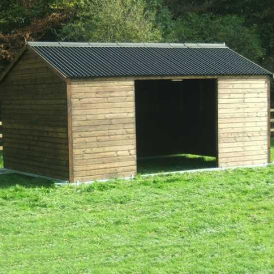 10 x 18 Horse Shelter