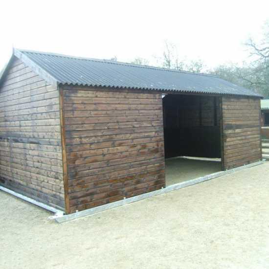 12 x 18 Horse Shelter