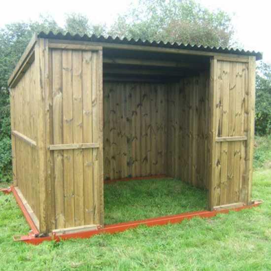 10 x 8 Pony & Livestock Shelter