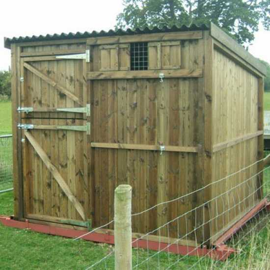 Single 8' x 8' Pony Stable