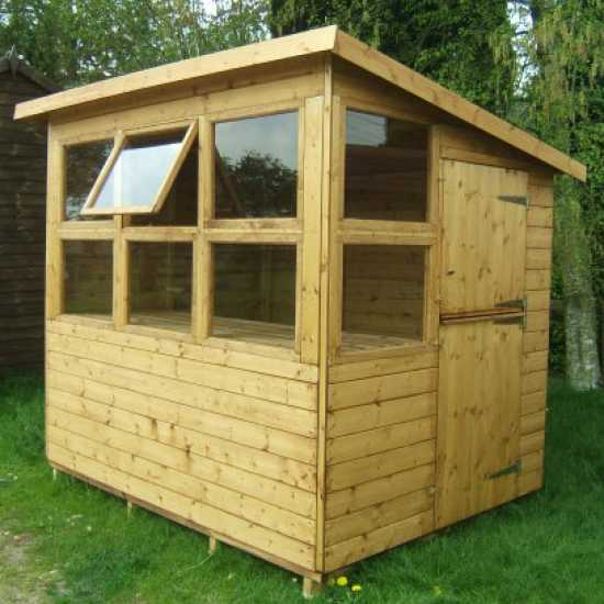 8' x 6' Potting Shed