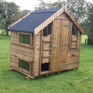 Haywood 25 chicken house